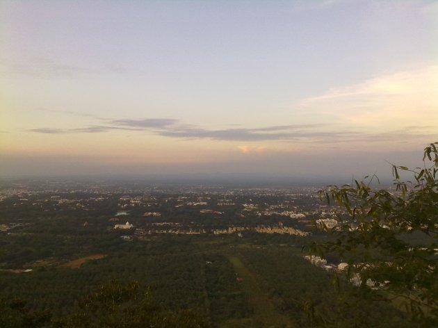 Mysore City from Ch Hills 1